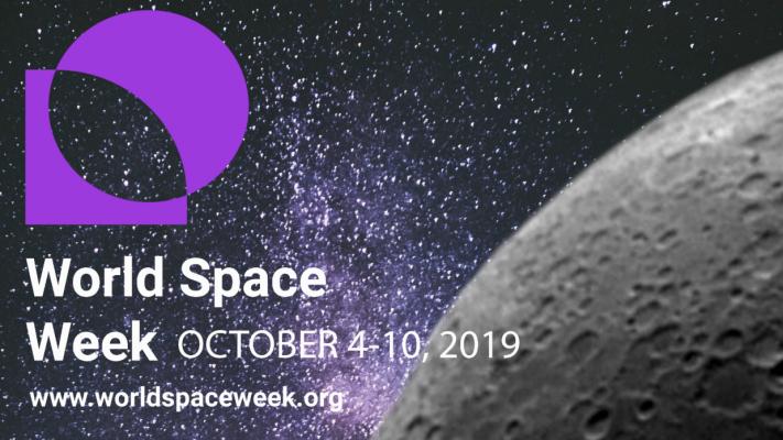 4 - 10 Ekim arasında Dünya Uzay Haftası kutlamalarına siz de katılın!