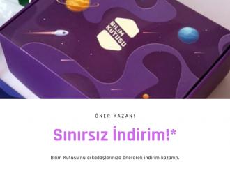 Bilim Kutusu'nu öner indirimi kazan!