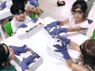 Bilim Kutusu Konya'da Üstün Zekalı Öğrenciler İle Buluştu