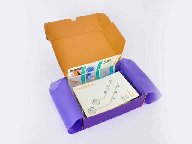 Kağıt Devre ve Elektrik kutu içeriği